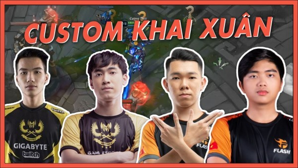 KÈO CUSTOM KHAI XUÂN: TEAM OPTIMUS  vs TEAM SENA