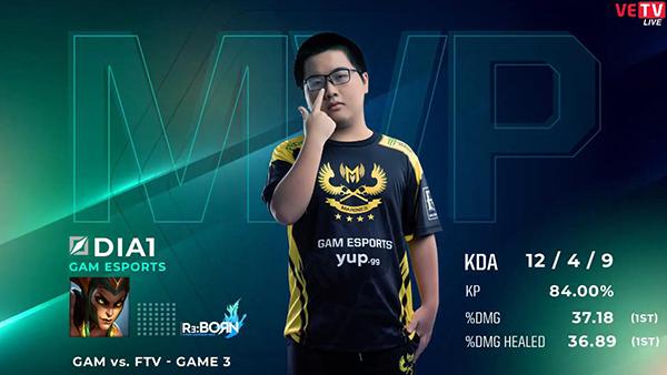[VCS Mùa Xuân 2020 Tuần 4 Ngày 2] GAM 2-1 FTV: Dia1 tỏa sáng rực rỡ đem về chiến thắng cho GAM