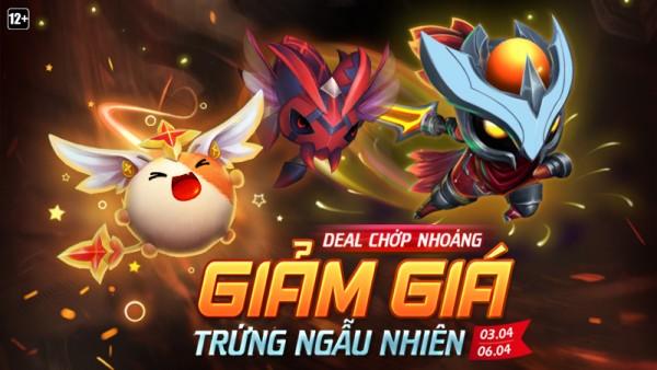 Deal Chớp Nhoáng dành cho Trứng Linh Thú dịp cuối tuần