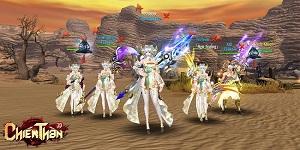 Sân chơi MMORPG đẳng cấp Chiến Thần 3D chính thức được khai mở