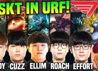 Khi 5 thành viên T1 thi đấu URF