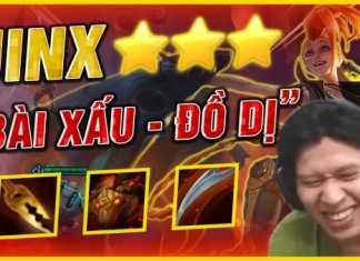 QTV chơi bài đồ xấu nhưng vẫn lên được Jinx và Ngộ Không 3 sao