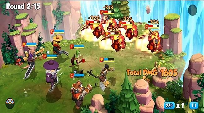 The King's Army – Game nhập vai nhàn rỗi có nhiều hoạt động liên server