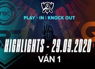 Highlights R7 vs LGD [Ván 1][CKTG 2020][Vòng Khởi Động – Loại Trực Tiếp][29.09.2020]