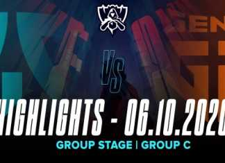 Highlights FNC vs GEN [CKTG 2020][Vòng Bảng][Bảng C][06.10.2020]