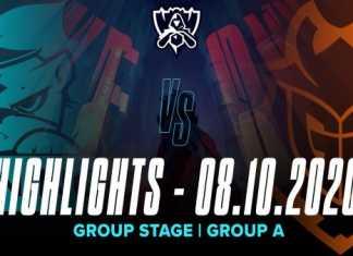 Highlights SN vs G2 [CKTG 2020][Vòng Bảng][Bảng A][08.10.2020]