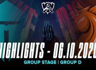Highlights TES vs UOL [CKTG 2020][Vòng Bảng][Bảng D][06.10.2020]