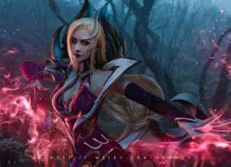 Bộ ảnh cosplay Morgana Tiên Hắc Ám đầy huyền bí và ấn tượng