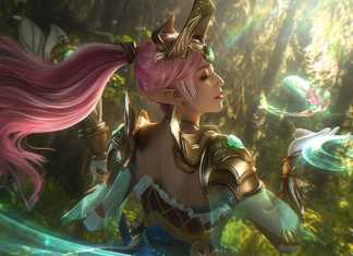 Ngây ngất với bộ ảnh cosplay Janna Nữ Thần Chiến Binh cực chất