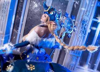 Hòa vào cái lạnh mùa đông cùng bộ ảnh cosplay Soraka Mùa Đông Kỳ Diệu